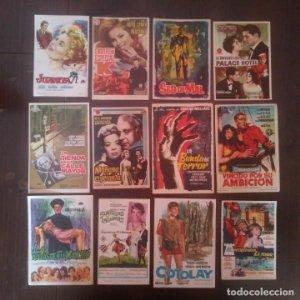 Regala folletos de mano de cine