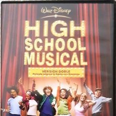 Cine: DVD - HIGH SCHOOL MUSICAL ( VERSION DOBLE). Lote 159230446