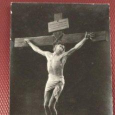 Cine: PROGRAMA DE CINE MUDO. EL REY DE REYES. SIN PUBLICIDAD EN EL REVERSO MUERTE EN LA CRUZ. Lote 159683170