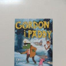 Cinema - gordon i paddy - folleto mano original en catalan - animacion impreso detras - 159684194