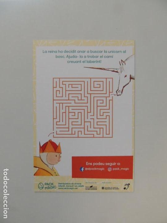 Cine: el vent entre les canyes - folleto mano original en catalan - animacion impreso detras - Foto 2 - 159684390