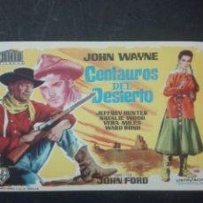 Cine: CENTAUROS DEL DESIERTO. Lote 159918602