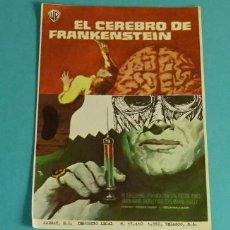 Cine: EL CEREBRO DE FRANKENSTEIN. PETER CUSHING - VERONICA CARLSON. SIN PUBLICIDAD. Lote 160076402
