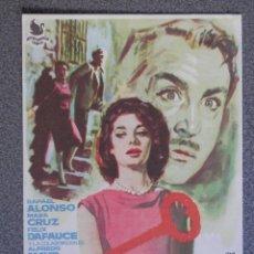 Cine: PROGRAMA DE CINE: CERRADO POR ASESINATO - BARBASTRO HUESCA. Lote 160138602