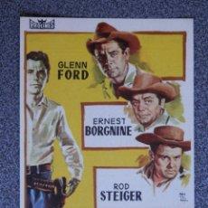 Foglietti di film di film antichi di cinema: PROGRAMA DE CINE: JUBAL CINE GOYA ZARAGOZA. Lote 160139764