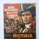 Cine: PROGRAMA. HISTORIA DE DOS CIUDADES. DIRK BOGARDE. S/P. Lote 160233550