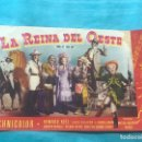 Cine: PROGRAMA DIPTICO CINE PELI LA REINA DEL OESTE - HOWARD KEEL CON CINE. Lote 160234734