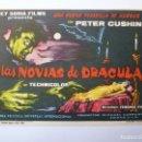 Cine: PROGRAMA. LAS NOVIAS DE DRACULA. S/P. Lote 160234874