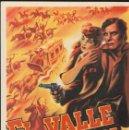 Cine: PROGRAMA DE CINE - EL VALLE DEL SOL - LUCILLE BALL, JAMES CRAIG - RKO RADIO - 1942 - SIN PUBLICIDAD.. Lote 160235026