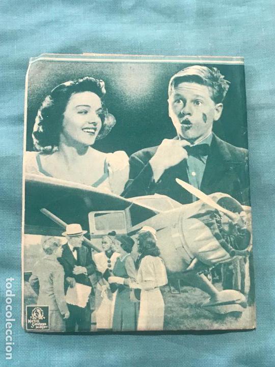 Cine: LAS VACACIONES DEL JUEZ HARVEY - PROGRAMA DE MANO DOBLE - AÑO 1937 SIN PUBLICIDAD - Foto 2 - 160241010
