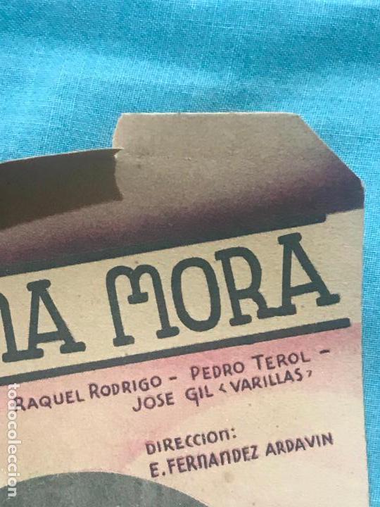 Cine: LA REINA MORA - CINE ECHEGARAY - AÑO 1939 sin publicidad - Foto 3 - 160270726
