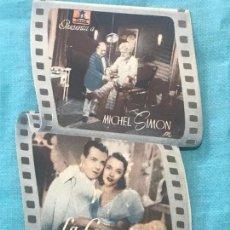 Folhetos de mão de filmes antigos de cinema: LA COMEDIA DE LA FELICIDAD. DOBLE TROQUELADO SIN PUBLICIDAD. Lote 160295990