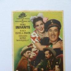 Kino - PROGRAMA. COYOTES EN LA HUASTECA. PEDRO INFANTE. S/P - 160298166