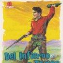 Cine: DEL INFIERNO A TEXAS - TEATRO CINE ALCAZABA Y CINE DEPORTIVO. Lote 160299066