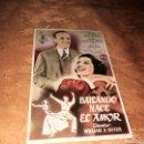 Cine: PROGRAMA DE CINE. BAILANDO NACE EL AMOR, POR FRED ASTAIRE. CON PUBLICIDAD CINE TORNEO DE SEVILLA. Lote 160305973