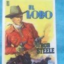Cine: PROGRAMA EL LOBO.-BOB STEELE SIN PUBLICIDAD. Lote 160381362