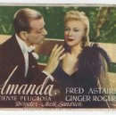 Cine: AMANDA - PROGRAMA DE CINE BADALONA C/P 1944 FRED ASTAIRE GINGER ROGERS. Lote 160464034