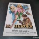 Cine: PROGRAMA DE MANO ORIG - LOS HEROES - SIN CINE . Lote 160545938