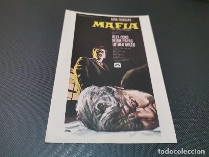 PROGRAMA DE MANO ORIG - MAFIA - SIN CINE (Cine - Folletos de Mano - Acción)