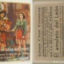 Cine: PROGRAMA DE CINE EN LA SELVA DEL TERROR PUBLICIDAD GRAN CINE DEL MODERNO 1945 ORIGINAL. Lote 160597378