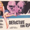 Cine: DETECTIVE CON RUBIA - SIN PUBLICIDAD. Lote 160597682