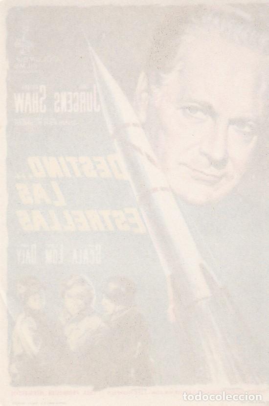 Cine: DESTINO LAS ESTRELLAS - SIN PUBLICIDAD - Foto 2 - 160602634
