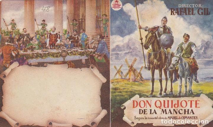 DON QUIJOTE DE LA MANCHA - DOBLE - SIN PUBLICIDAD (Cinema - Flyers and Ads - Action)