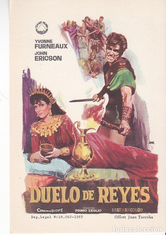 DUELO DE REYES - SIN PUBLICIDAD (Cine - Folletos de Mano - Acción)