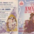 Cine: EL AMADO DE LOS DIOSES - DOBLE - CINE ECONÓMICO - PALAMÓS. Lote 160604634