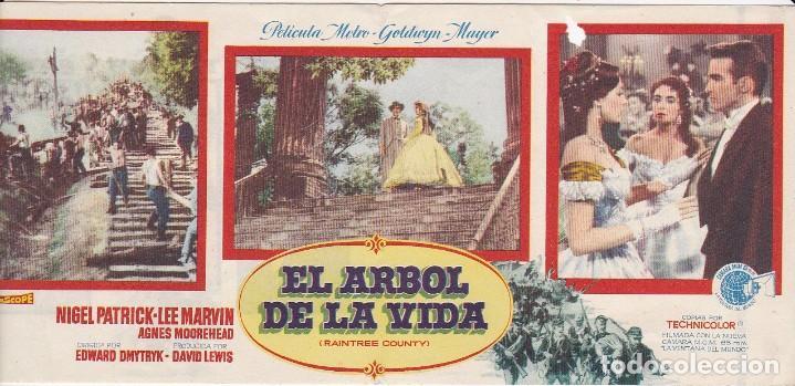 EL ÁRBOL DE LA VIDA - DOBLE - SIN PUBLICIDAD (Cine - Folletos de Mano - Acción)