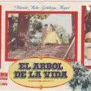 Cine: EL ÁRBOL DE LA VIDA - DOBLE - SIN PUBLICIDAD. Lote 160605634