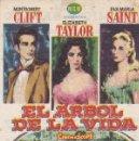 Cine: EL ÁRBOL DE LA VIDA - CINES BOHEMIO Y GALILEO. Lote 160605922