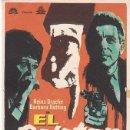 Cine: EL DELATOR - SIN PUBLICIDAD. Lote 160608202