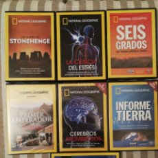 Cine: LOTE 7 DVD NATIONAL GEOGRAPHIC. DOCUMENTAL. Lote 160630902