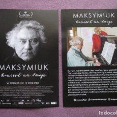 Cine: MAKSYMIUK. Lote 160673142