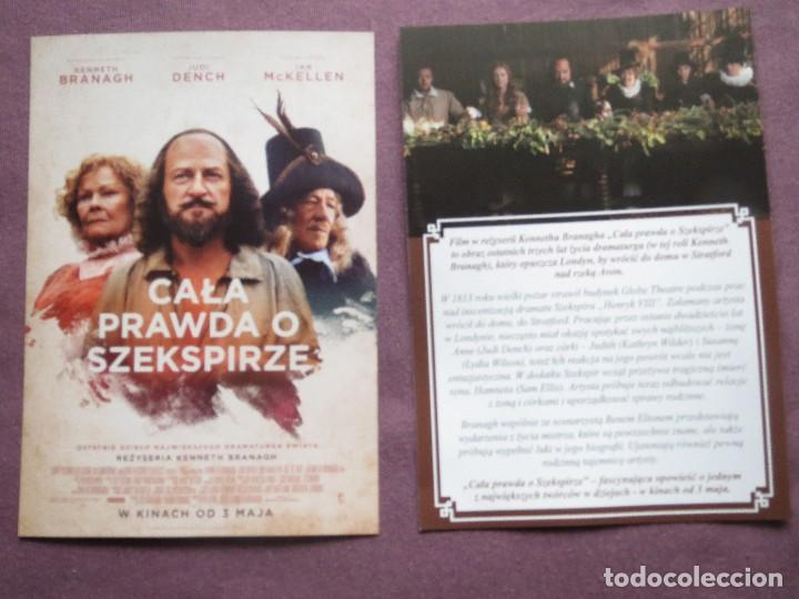 CALA PRAWDA O SZEKSPIRZE (Cine - Folletos de Mano - Documentales)