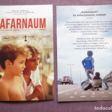 Foglietti di film di film antichi di cinema: CAFARNAUM. Lote 185887663