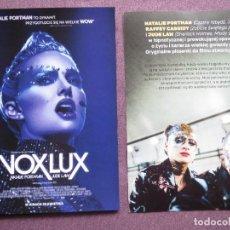 Cine: VOXLUX. Lote 160675314