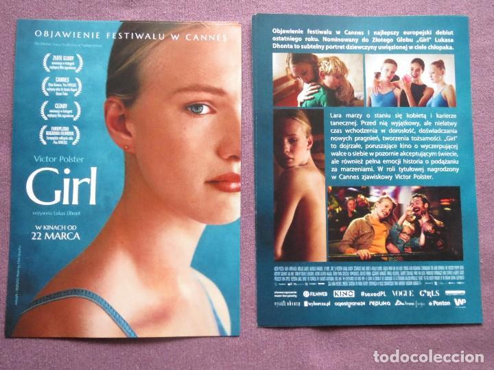 GIRL (Cine - Folletos de Mano - Documentales)