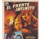 Cine: EL FRENTE INFINITO - SIN PUBLICIDAD. Lote 160727530