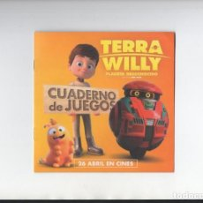 Cine: TERRA WILLY. Lote 160996902
