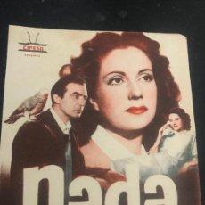 Cine: PROGRAMA DE CINE DOBLE. NADA CON PUBLICIDAD . Lote 161233814