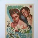 Cine: PROGRAMA. EL ESPECTRO DE LA ROSA. S/P. Lote 161262794