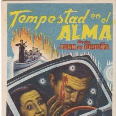 Cine: TEMPESTAD EN EL ALMA - SIN PUBLICIDAD. Lote 161707094