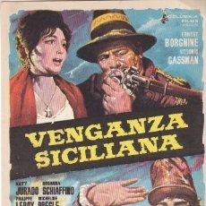 Cine: VENGANZA SICILIANA - SIN PUBLICIDAD . Lote 161707282