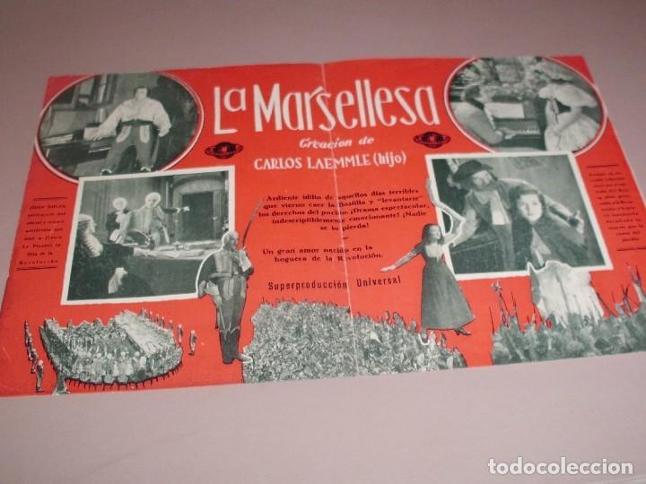 Cine: LA MARSELLESA - AÑOS 30 - DOBLE - Foto 2 - 161894846