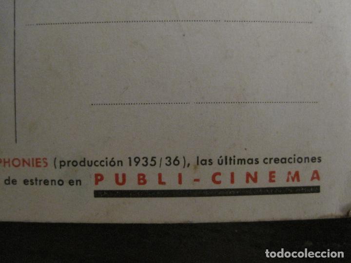 Cine: CONCIERTO DE BANDA-MICKEY MOUSE-EN COLOR-WALT DISNEY-PUBLI CINEMA-VER FOTOS-(V-16.721) - Foto 4 - 162048318