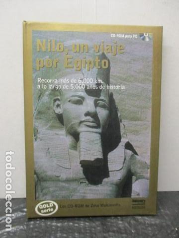 NILO, UN VIAJE POR EGIPTO RECORRA MAS DE 6000 KM A LO LARGO DE 5000 AÑOS DE HISTORIA (Cine - Folletos de Mano - Documentales)