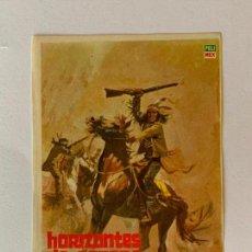 Cine: FOLLETO DE CINE HORIZONTES DE SANGRE. SIN PUBLICIDAD.. Lote 162462054