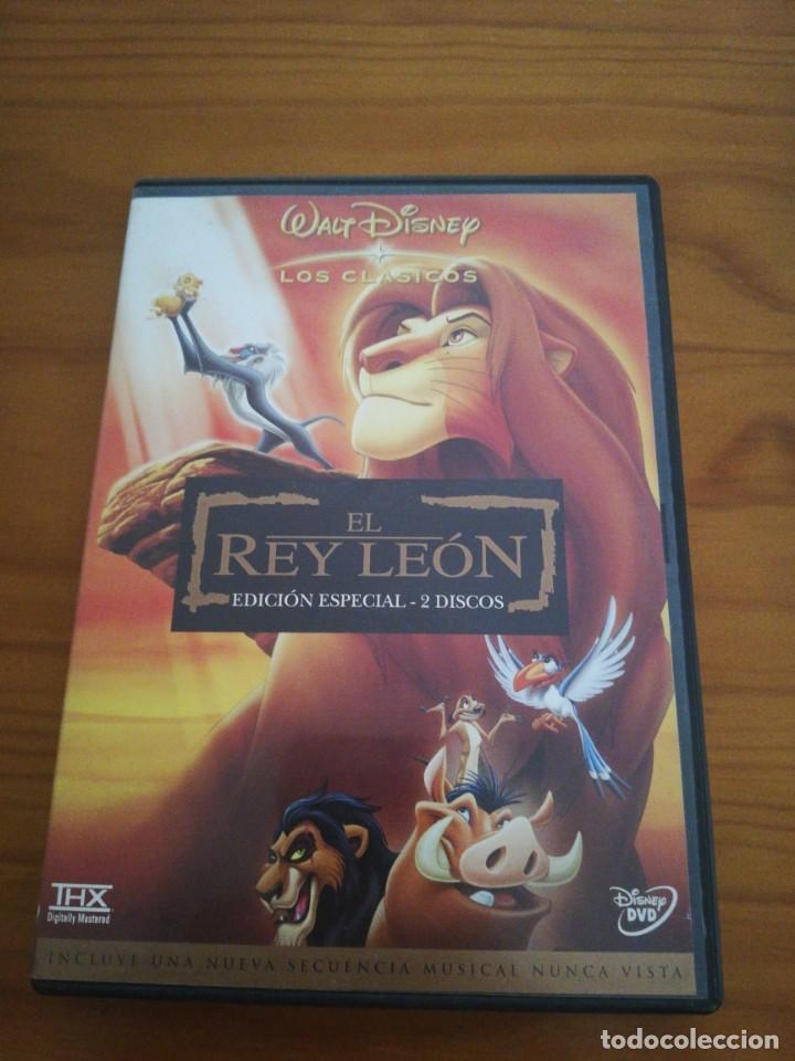 DVD EL REY LEÓN ED,. ESPECIAL 2 DISCOS (Cine - Folletos de Mano - Infantil)